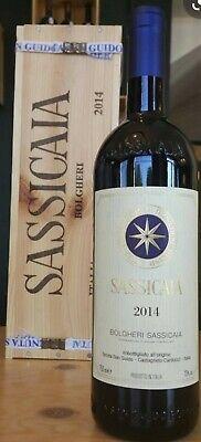 vino Sassicaia - Tenuta San Guido - anno 2014 - Bolgheri Supertuscan