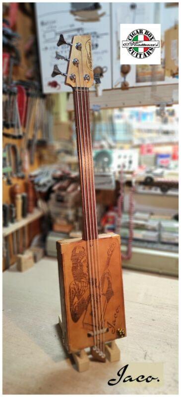 Jaco Bass Cigar Box Robert Matteacci's.