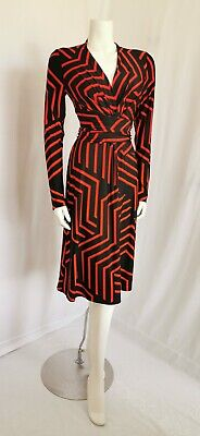 ISSA LONDON RED AND BLACK DRESS SIZE 10 US 6
