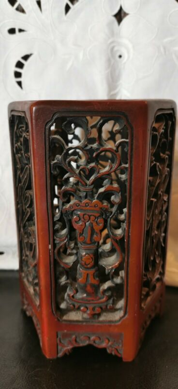 Chinese Carved Ornate Stand