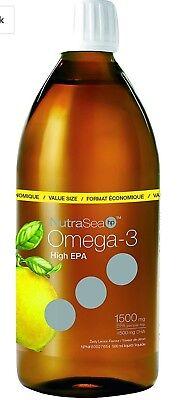 Nutra Sea Fish Oil HP -HIGH POTENCY 3:1 EPA to DHA -Lemon Flavour (500mL=16.6oz) ()