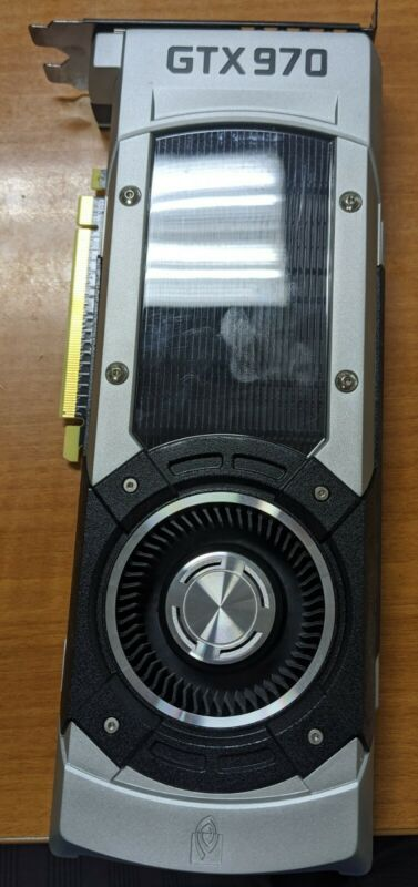 NVIDIA GeForce GTX 970  4GB GDDR5 Graphics Card