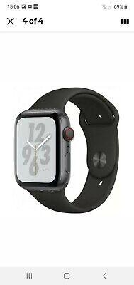 100% genuine Apple watch series 4 40mm space grey GPS ECG heart rate