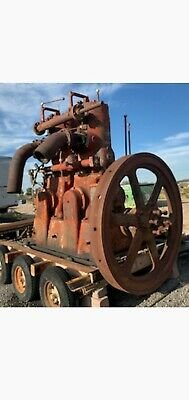 Fairbanks Morse Co Hit And Miss Engine 150 Hp Big Huge Antique Old