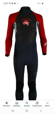 """MENS circle one 3mm full lenght WETSUIT bodyboard kayak XXXL chest 49"""" Blue"""