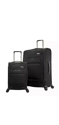 Samsonite Epsilon NXT 2-Piece Softside Luggage Spinner Set, BLUE