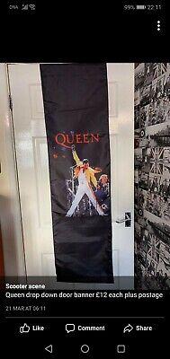 Queen Freddie Mercury Bohemian Rhapsody Banner