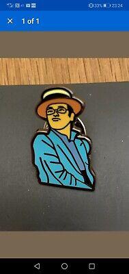 Elton John Rocket Man Pinball Wizard Pin Badge