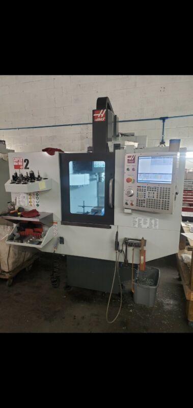 2019 HAAS Super Mini Mill 2 CNC Machine