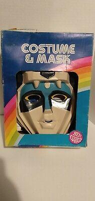 RARE 1984 Voltron Mask & Costume w/ Box Ben Cooper VTG 1980s cartoon HTF Gift