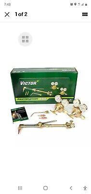 Victor 0384-0807 Journeyman 450 540510 Acetylene Torch Outfit Classic Regulator