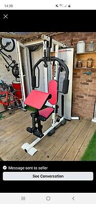 home multi gym weider pro 4500 with delivery and set up 90KG stack