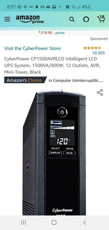 cyberpower battery backup