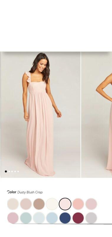 Show Me Your Mumu June Maxi Dress Dusty Blush Crisp Size Medium