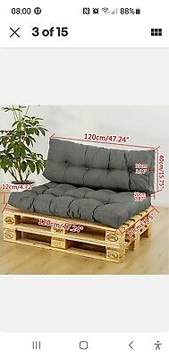 Pallet Cushions Set  Colour Gray