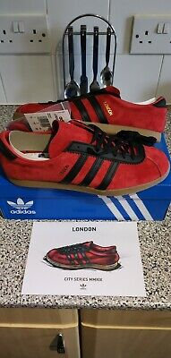 Adidas London Size 9 BNBWT With Card.