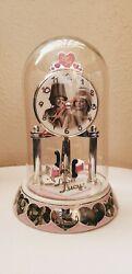 I love Lucy clock