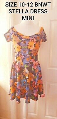 SIZE 10 - 12 DRESS NEW WITH TAGS DRESS STELLA SKATER LADIES...