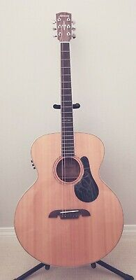 Alvarez ABT60E Acoustic Baritone Guitar With Gig Bag