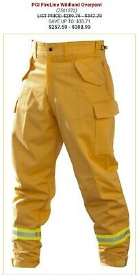 Pgi Fireline Wildland Firefighting Pants Size Large Regular