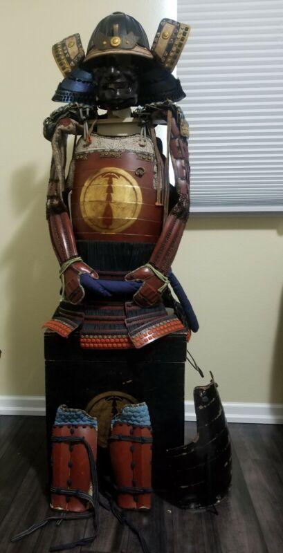 Antique Japanese Samurai Armor-Full Size Wearable