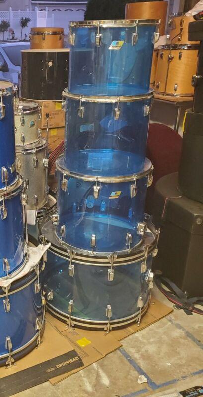 Ludwig vistalite drum set