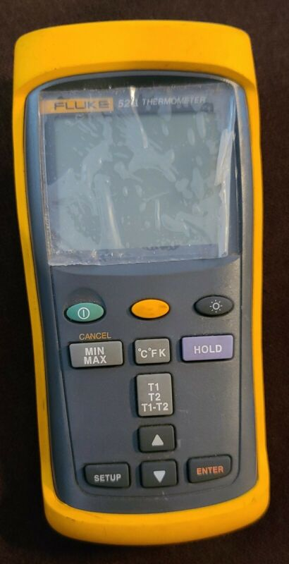 Fluke 52 II Thermocouple Thermometer Meter
