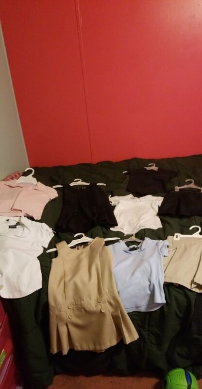 Girls Uniforms size 6-6x. LOT(NAUTICA BRAND)