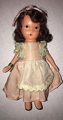Nancy Ann Storybook Doll Bisque Saturday's Child W/ Wrist Tag