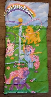 My Little Pony Sleeping Bag Sundae Best Ponies Ice Cream Sherbet Vintage (Best Childs Sleeping Bag)