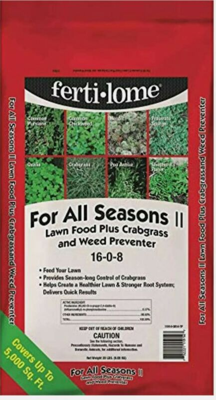 Ferti-Lome for All Seasons II Lawn Fertilizer with Crabgrass & Weed