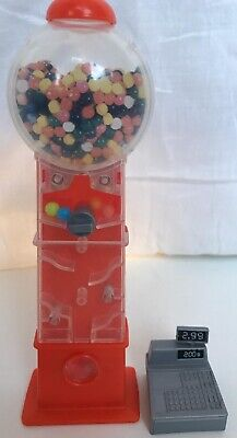 Vintage Barbie Candy Shop Playset Accessories Gumball Machine & Till 2003 Mattel