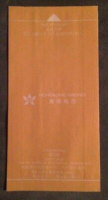 Air Sickness Bag / Spuckbeutel Hongkong Airlines