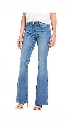 V by Very Ladies Blue Denim High Rise Bootcut Jeans - BNWT High Rise Bootcut Jeans