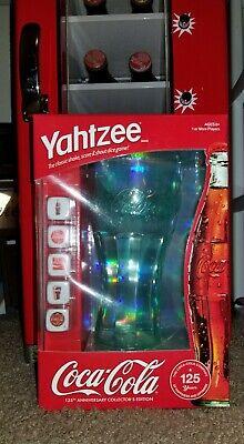 Yahtzee Coca-Cola 125th Anniversary Collector's Edition