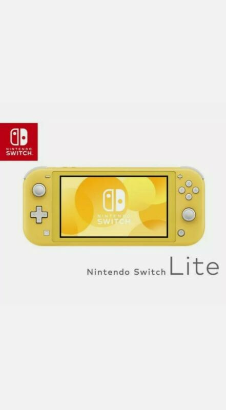 Nintendo+Switch+Lite+Yellow+BRAND+NEW+