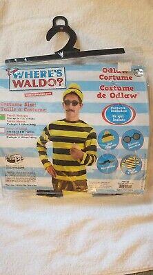New ODLAW where's Waldo Wally book week yellow - Odlaw Kostüme