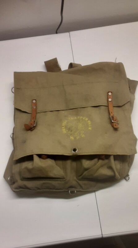 Vintage Boy Scout Back Pack