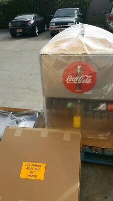 New Cornelius Df250-bcz 8-head Soda Pop Coca-cola Fountain Ice Dispenser