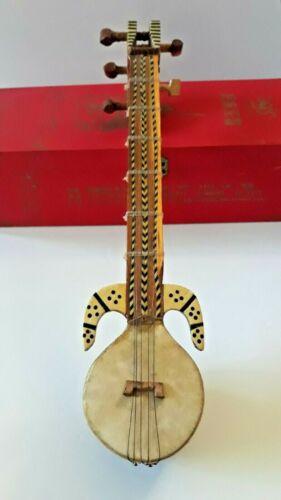 "12"" Traditional Folk Musical Instrument 5 String Chinese Xinjiang Uyghur Rawap"