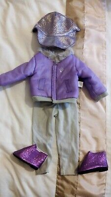 Chad Valley DESIGN A FRIEND Doll - 4 Piece OUTFIT Suit CLOTHES Inc BOOTS
