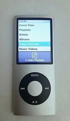 Apple iPod Nano (4th Gen) 8GB Silver A1285 - WORKING