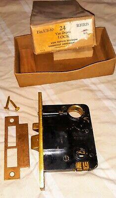 Von Duprin Model 24 Rhrb Mortice Lock. New.
