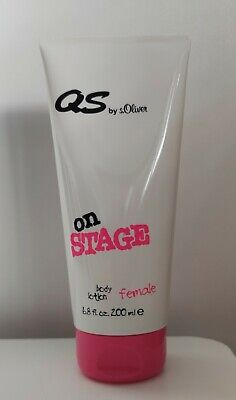 Qs by s.Oliver on Stage female body lotion 200 ml gebraucht kaufen  Düsseldorf
