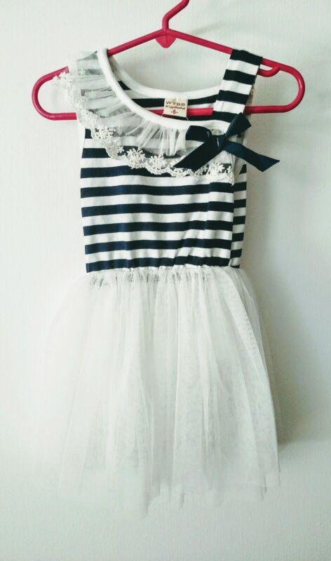 WYBB BALLERINA Dress Girls Size 6- Dance, Tutu, Ballet, Costume -New with Tags
