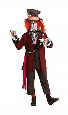 Mad Hatter Bandolier (MEN'S AUTHENTIC MAD HATTER COSTUME SIZE L (missing tie but with Spool)
