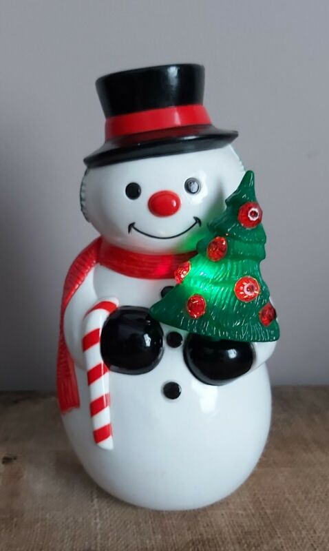 1979 Radiant Frosty The Snowman Figure Light Up Tree Christmas Decor Working