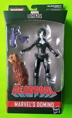 "Marvel Legends Deadpool 6"" Domino Action Figure (Sasquatch BAF) - NEW/SEALED"