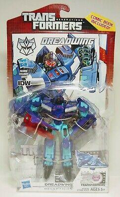 NEW Dreadwing G2 Thrilling 30 Generations Transformers 2013 Hasbro w/ IDW Comic