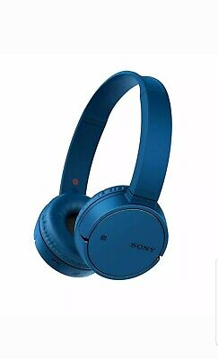 SONY WH-CH500 Wireless Bluetooth Headphones - Blue Up to 20h. FREE DELIVERY